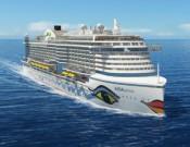 Das neuartige Rumpfdesign soll Energie einsparen (Foto: AIDA Cruises)