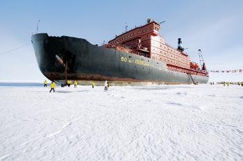 Größter Eisbrecher der Welt