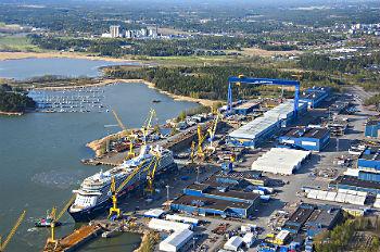 Die Turku Meyer Werft - Foto Meyer Werft