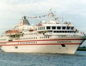 Die HANSEATIC bietet Raum für 175 Passagiere (Foto: Hapag-Lloyd Kreuzfahrten)